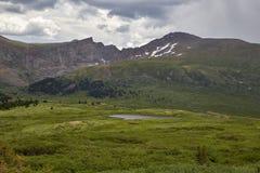 Guanella passerande, Colorado Royaltyfri Fotografi
