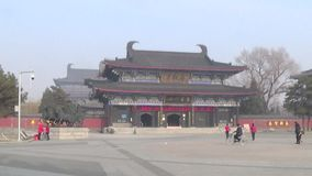 Guang guan temple stock video