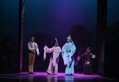 Guangdong de opera-eerste handeling van de gebeurtenissen van dans drama-Shawan van het verleden royalty-vrije stock foto's