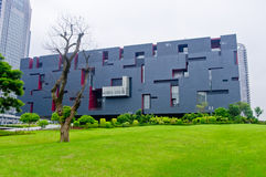 Guangdong museum Arkivbild