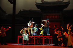 Guangdong National Music Orchestra-The first act of dance drama-Shawan events of the past Royalty Free Stock Photos