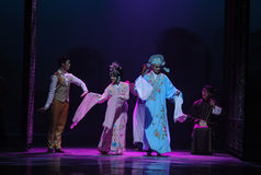 Guangdong Opera-The first act of dance drama-Shawan events of the past Stock Photo