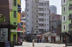 Guangdong södra bakgata Arkivfoto