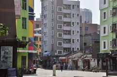 Guangdong-Südhintergasse stockfoto