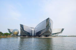 Guangdong Science Center. China's Guangdong Science Center is the world's largest show, the most comprehensive Science and Technology Museum stock photo