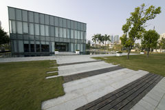 Guangdong Shenzhen Shekou Sea World Modern Architecture Stock Image
