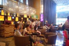 Guangdong Zhongshan, China: Coffee Lounge Royalty Free Stock Image