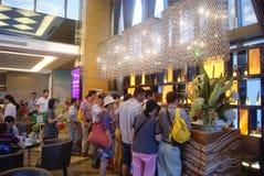 Guangdong Zhongshan, China: Coffee Lounge Royalty Free Stock Photo