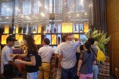 Guangdong Zhongshan, China: Coffee Lounge Stock Photos
