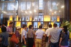 Guangdong Zhongshan, China: Coffee Lounge Royalty Free Stock Photography