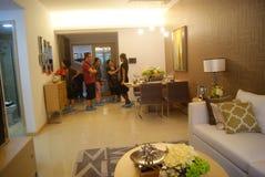 Guangdong Zhongshan, China: residential interior landscape Royalty Free Stock Photo