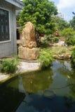 Guangdong Zhongshan, China: Restaurant garden architecture landscape Stock Photos