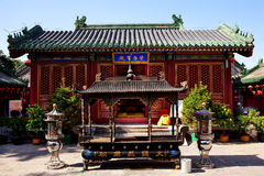 Guanghua Buddha Temple Incense Burner Beijing royalty free stock images