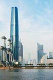 Guanghzou Stadt und Pearl River Lizenzfreies Stockbild