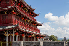 Guangji gatetower Stock Photo
