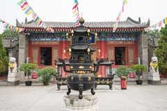 Guangren temple Royalty Free Stock Image