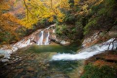 Guangwu-Berg im Herbst Lizenzfreies Stockbild