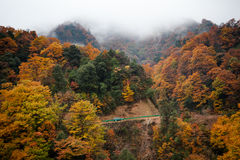 Guangwu mountain in autumn Royalty Free Stock Images