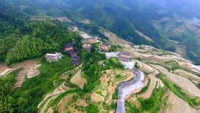 Guangxi arrière Chine du dragon images stock