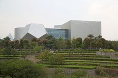 Guangxi Art Gallery in der Hauptstadt Nanning China Stockbilder