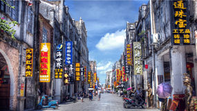 Guangxi Beihai Street scenery. Eastphoto, tukuchina,  Guangxi Beihai Street scenery Stock Photo