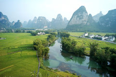 Guangxi landscapes Stock Image