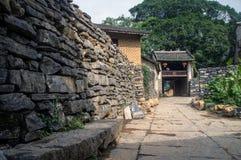 Guangxi-Provinz China, berühmte Touristenattraktionen in Hezhou, alte Stadt Huang Yaos Stockfoto