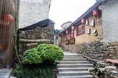 Guangxi-Provinz China, berühmte Touristenattraktionen in Hezhou, alte Stadt Huang Yaos Lizenzfreie Stockfotos