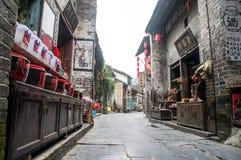 Guangxi-Provinz China, berühmte Touristenattraktionen in Hezhou, alte Stadt Huang Yaos Lizenzfreies Stockfoto