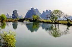 Guangxi scenery. Eastphoto, tukuchina,  Guangxi scenery, nature beauty Stock Photo
