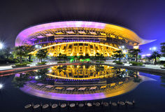 Guangxi Sports Center Main Stadium Royalty Free Stock Photo