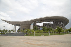 Guangxi Sports Center background Royalty Free Stock Image