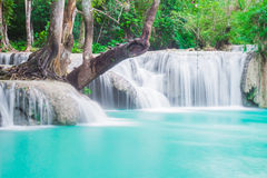 Guangxi waterfall Stock Images