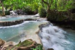 GuangXi wody spadek, Laungprabang, Lao Obrazy Royalty Free