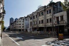 Guangxi Wuzhou arcade building. Eastphoto, tukuchina,  Guangxi Wuzhou arcade building Royalty Free Stock Photos