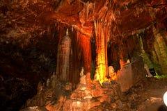 Guangxiguilin van China voor de hoogten van admiraliteit van de provincie voor rots   --  Vreemde stalactietenpijlers Royalty-vrije Stock Foto's