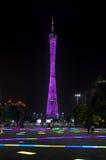 GUANGZHOU, ΚΙΝΑ - 13 ΣΕΠΤΕΜΒΡΊΟΥ 2016: Πύργος καντονίου Guangzhou, ν Στοκ φωτογραφία με δικαίωμα ελεύθερης χρήσης