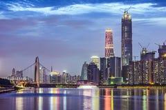 guangzhou της Κίνας Στοκ Εικόνα