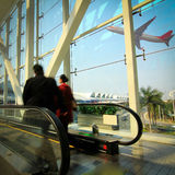 Guangzhou Airport Royalty Free Stock Photo