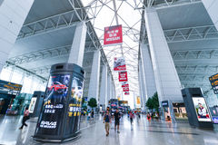 Guangzhou baiyun international airport Stock Image