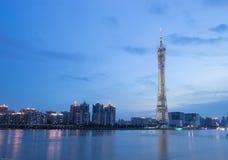 guangzhou basztowy tv Zdjęcia Stock