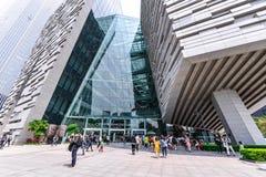 Guangzhou biblioteki Nowy krajobraz Obrazy Stock