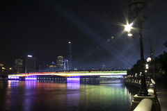 Guangzhou-Brücke Lizenzfreie Stockbilder
