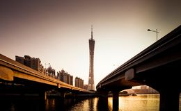 Guangzhou Canton Tower Royalty Free Stock Images