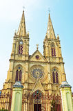 The Guangzhou cathedral Stock Photo