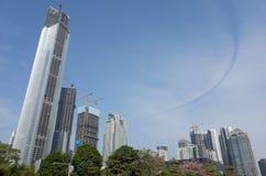 Guangzhou CBD Lizenzfreie Stockfotos