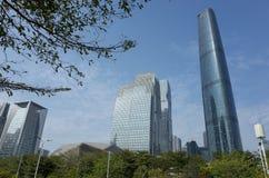Guangzhou CBD Royalty Free Stock Image
