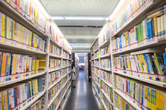 Guangzhou, China - April, 16,2015: Es gibt viele Bücher im guangzho Stockfotos