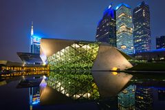 Guangzhou Opera House. Guangzhou, China royalty free stock photo