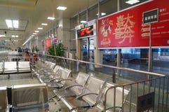 Guangzhou, China: Bus station Royalty Free Stock Photos